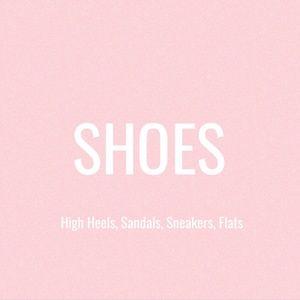SHOES - Sandals, Heels, Pumps, Boots, Sneakers